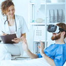 VR for Distracting Patients
