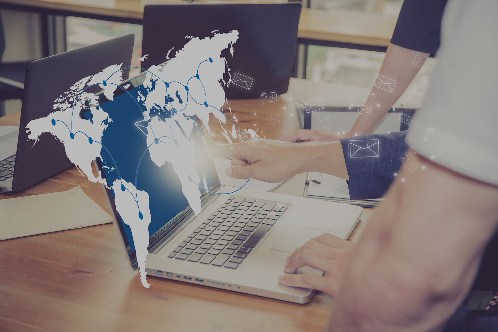 How can offshore business email support