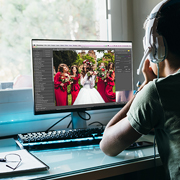 Italian Wedding Photographer Receives High-quality Photo and Video Editing Services