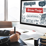 Case Study on Sticker Design Services for an Advertising Firm