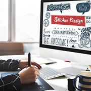 Case Study on Sticker Design Services