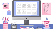 Digital Art Storyboards