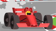 Automobile Sports Illustration