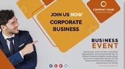Business Event Invite Design Services