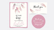 Thank You Card Design for Babies