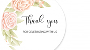 Thank You Card Designs for Weddings