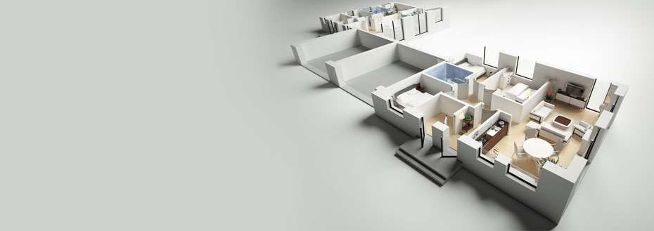3D Floor Plan Creation Services