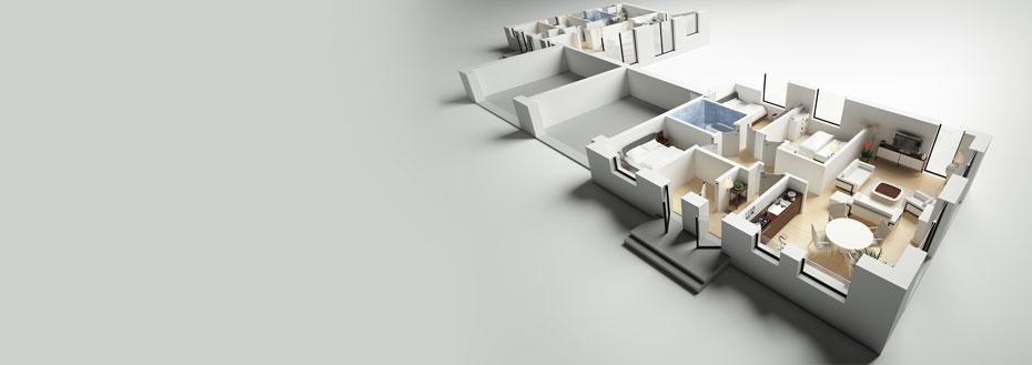 3D Floor Plan Creation Services