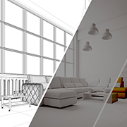 Case Study on 3D Furniture Modeling for Real Estate Photographer