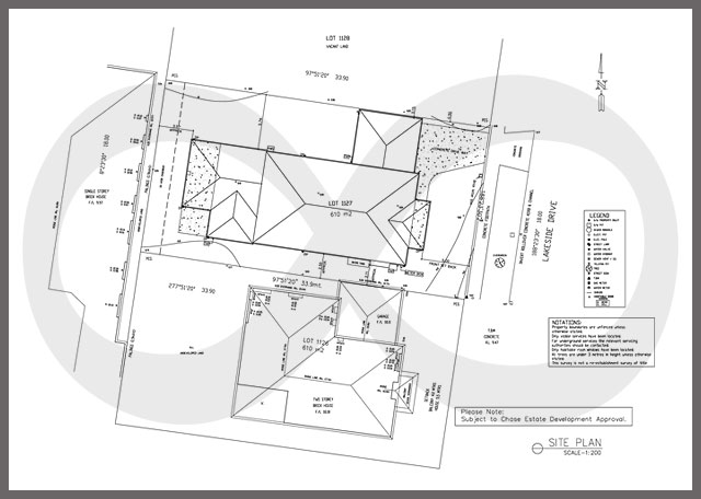 Civil engineering site plan samples outsource2india for Site plan dimensions