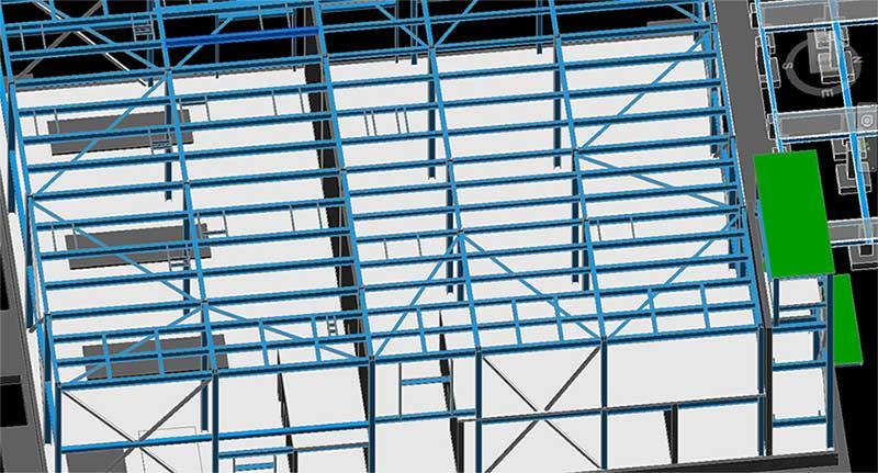 Structural Steel Model