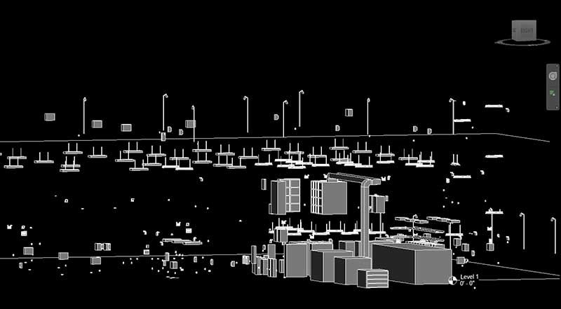 BIM Electrical Model – Commercial Space