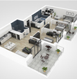 O2I Provided Floor Plan Creation to an Austin-based Client