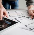 Provided Construction Drawings for an Italian Architectural Firm