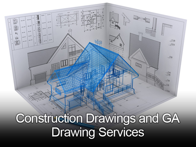 Construction Amp Ga Drawing Services Outsource2india
