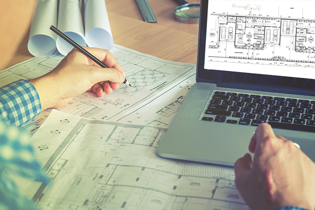 2d Drafting And Detailing : Architectural drafting and detailing cad services o2i
