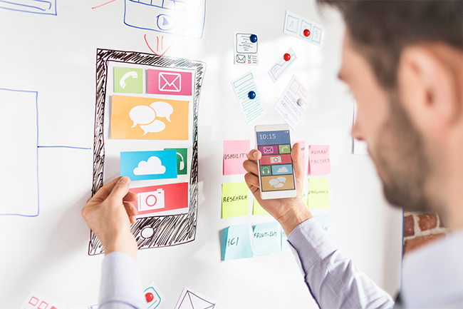 UI/UX Design Services - Outsource2india