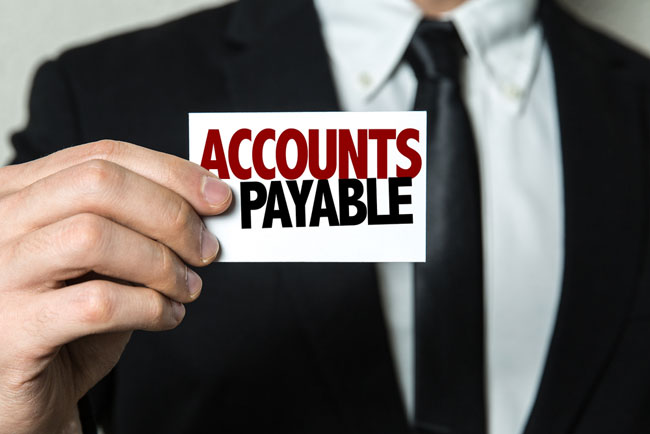 account payable Accounts payable is the aggregate amount of an entity's short-term obligations to pay suppliers for products and services which the entity purchased on credit if accounts payable are not paid within the payment terms agreed to with the supplier, the payables are considered to be in default, which m.