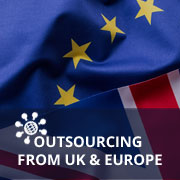 Outsourcing from UK and Europe