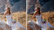 Natural Wedding Portrait Enhancement