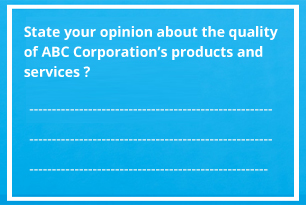 Types of Questions in Questionnaire Design - Outsource2india