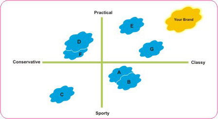 perceptual map