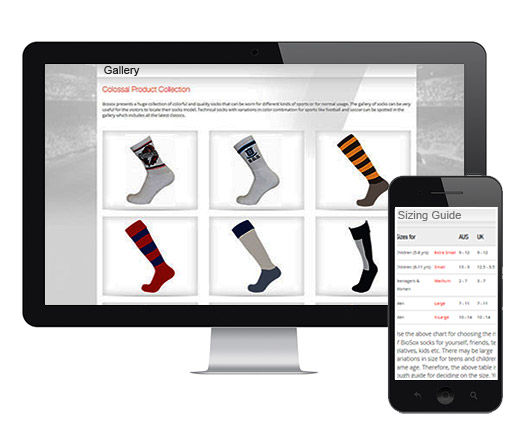 Case Study on eCommerce Website Socks Manufacturer