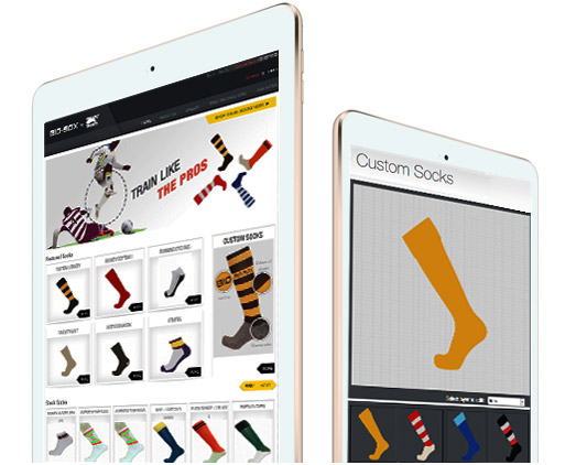 e-commerce Website for Socks Manufacturer & Retailer