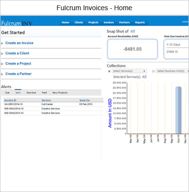 fulcrum invoices software outsource2india