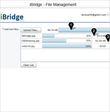 iBridge file  management