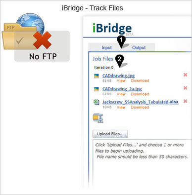 iBridge track files